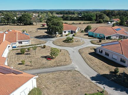 Maison d'Accueil Spécialisée - 87300 - Bellac - Fondation John Bost - Village des Gâtines