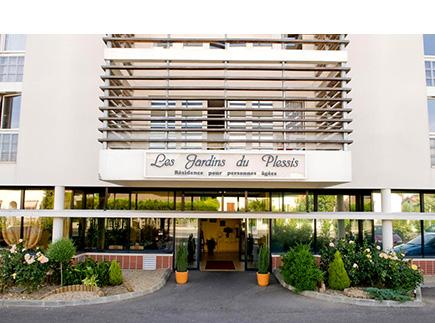 Résidence Les Jardins Du Plessis - Résidence Médicalisée