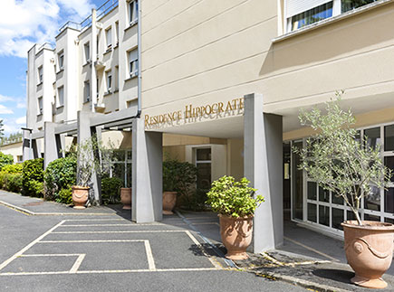 Etablissement d'Hébergement pour Personnes Agées Dépendantes - 92290 - Châtenay-Malabry - EHPAD Résidence Hippocrate Groupe Hermes Santé