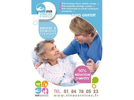 Services d'Aide et de Maintien à Domicile - 92000 - Nanterre - VivaServices Nanterre