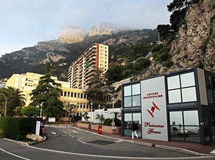 Hôpital - Centre Hospitalier (CH) - 98000 - Monaco - CHPG Monaco Centre Hospitalier Princesse Grace