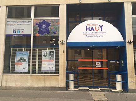 organismes Handicap- National - Personnes Handicapées - 75343 - Paris 07 - AVH - Association Valentin Haüy, Avec les Aveugles et les Malvoyants